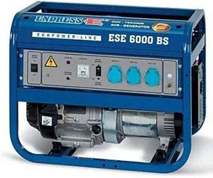 Бензиновый автоматический электрогенератор