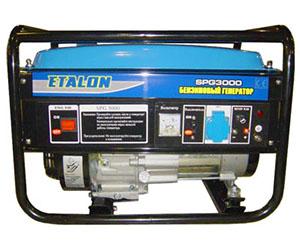 Бензогенератор Etalon SPG 3000