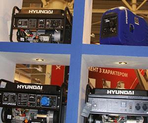 Каталог бензогенераторов Hyundai
