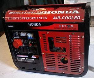 Дизель генератор Honda EXT 12D