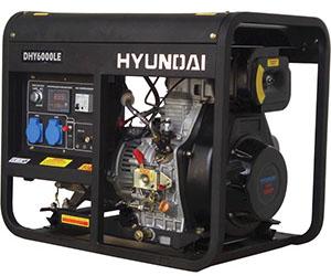 Дизельный генератор Hyundai 6000