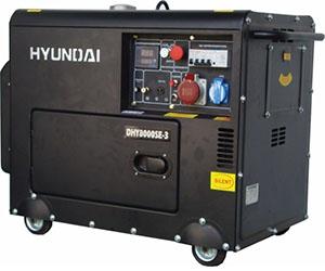 Дизельные генераторы Hyundai LE