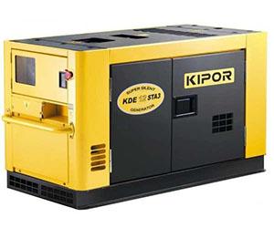 Дизельный генератор Kipor kde 12 sta3