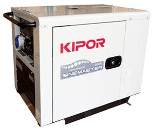 Инверторный дизельный генератор kipor id 6000